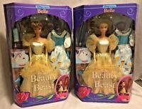 Beauty and The Beast BELLE (2) 1991 Mattel 2433 NIB Box problem Disney Classics