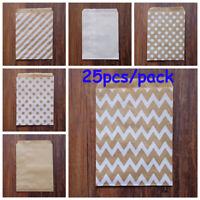 - corn le dot ondée sac en papier la valise d'emballage paquet de papier kraft