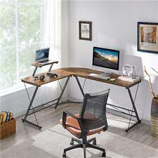 L-Shape Corner Computer Desk Pc Laptop Study Table Home Office Desk Workstation