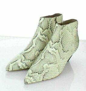 04-39 NEW $395 Women's Sz 7.5M Mercedes Castillo Julienne Pointed Toe Ankle Boot