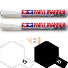 Tamiya Black White Paint Marker X1 X2 89001 89002 for Hobby Model Pen Tool