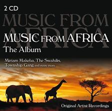 Music From Africa -The Album - Various Artists        2 CD NEU OVP
