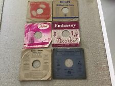 """10"""" 78rpm PHILIPS / EMBASSY / CAPITOL + RECORDS Original Paper Record Sleeves"""