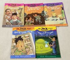 Lot of 5 THE ZACK FILES Childrens Chapter Books 5 9 12 14 15 DAN GREENBURG RL3