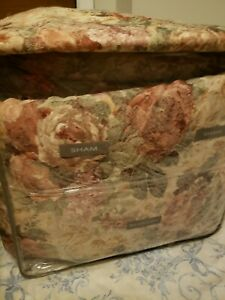 7 pc Croscill Cotswold King  comforter + Decorative Pillow   !!RARE Vintage