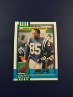 1990 Topps # 300 ANDRE RISON SUPER ROOKIE RC Colts ERROR PICTURE IS VERNON