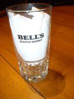 Verre à whisky BELL'S - Neuf - Modèle rare