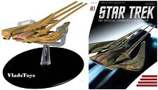 Eaglemoss Diecast Star Trek Xindi-Reptilian Warship #81 w/Magazine