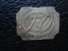 BRASIL - sello yvert y tellier nº 4 matasellados (A23) stamp brazil