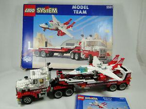 Lego Model Team 5591 Mach II Red Bird Rig Truck komplett mit Anleitung OBA + OVP