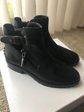 Dolce Vita Ankle Moto Boots Black Sz 7