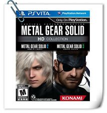 PSV METAL GEAR SOLID HD COLLECTION SONY VITA Action Adventure Games Konami