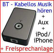 IPod iPhone Adattatore Bluetooth BMW e38 e39 e46 z3 MINI Business rundpin Radio
