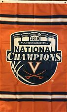 Ncaa Men's National Champions Virginia Cavaliers 3x5 Flag 2019 Vertical Orange
