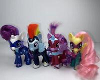 "Lot of 4 My Little Pony FIM 2014 Target Exclusive 3"" Power Ponies Rainbow Dash"