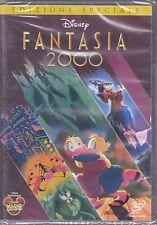 Dvd Disney **FANTASIA 2000** Topolino Paperino nuovo