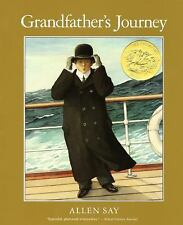 Grandfather's Journey by Allen Say (2008, Picture Book)HOMESCHOOL 5 In A Row