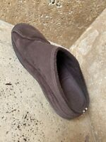 FitFlop Womens Suede Brown Shoes Clogs Work Out Walking Slip On Mules Size US 8
