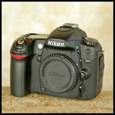 LOW USE Nikon D80 Digital SLR Camera battery charger leads manual