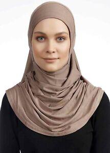 EC-105 Fertig Kopftuch Türban Esarp Sal Tesettür Hijab Turban