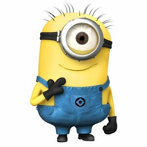 MINIONS Despicable Me WALL STICKERS Wall Sticker Vinyl for children room (M02)