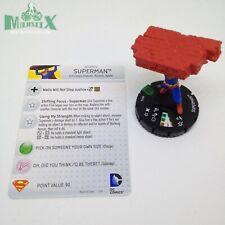 Heroclix World's Finest set Superman #017a Uncommon figure w/card!