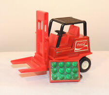 Coca-Cola Buddy L Fork Lift with a toy case of plastic bottles (12542)