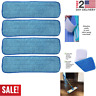 4PCS Microfiber Spray Mop Pads Reusable 16'' Replacement Wet Dry Floor Cleaning