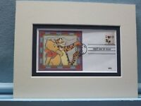 Walt Disney's - Winnie the Pooh  & Tigger and First Day Cover of the Love stamp