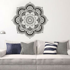 Muraux Sticker Mural Mandala Fleur Amovible Décor Autocollant Mur Chambre Salon
