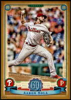 Aaron Nola 2019 Topps Gypsy Queen 5x7 Gold #20 /10 Phillies
