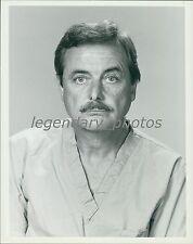 1982 Portrait of Actor William Daniels Original News Service Photo