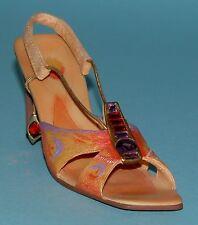 "Just the Right Shoe, Raine, ""Madagascar Comet"" mixed media miniature # 25182"