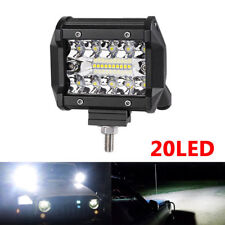 4 inch 200W LED Work Light Bars SPOT FLOOD Off Road 4x4 Truck Driving Fog Lamp