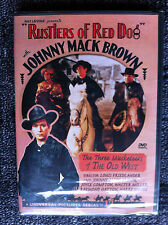RUSTLERS OF RED DOG (1935) - Region ALL DVD - Serial - Johnny Mack Brown