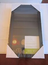 "COIN CASE & TRINKET BOX DISPLAY CASE - 16"" X 9 1/4"" X 1 3/4"""