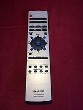 Original Replacement SHARP RRMCG028SJSA HI FI AUDIO  Remote Control