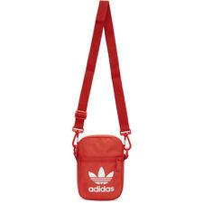 Adidas Originals Red Trefoil Festival Bag Crossbody