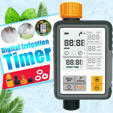 Garden Automatic Water Tap Timer Sprinkler Drip Digital Irrigation System LCD