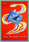 Gitanes Cigarettes Cigarette Smoke Deco  Poster Print
