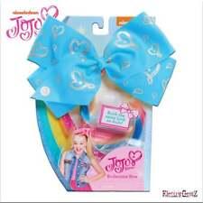 Jojo Siwa Bowtastic BODACIOUS Bow-Bleu Avec Pince en Extension Cheveux