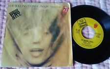 """THE ROLLING STONES Angie  7"""" SINGLE spanish 1973"""