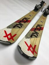 Volkl Unlimited AC 7.4 156 cm Skis Marker Adjustable Bindings All Mountain G1041
