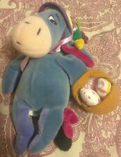 Vintage EASTER Eeyore Bonnet Exclusive Walt Disney Company Winnie the Pooh Plush