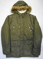 Unbranded Men's Other Zip Neck Long Coats & Jackets