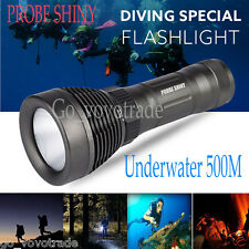 Underwater 500M Ultra 5000LM CREE XML T6 LED Diving Flashlight Bright Torch Lamp