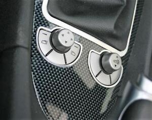 Alu Frame Set for Center Console Switches - Mercedes Benz SLK R171 Interior Trim