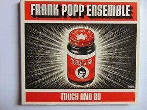 Frank Popp Ensemble - Touch And Go - Digipak - CD - FREE POST