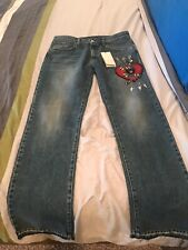 Gucci Men's Snake / Heart / Arrow / Panther Denim Jeans