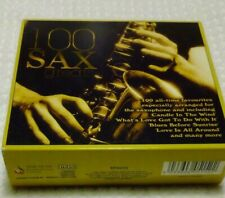 100 SAX GREATS (VOL 1-4)  ARRANGED FOR THE SAXOPHONE (4 CD SET) TIME MUSIC